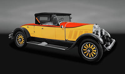 Photograph - 1926 Auburn 8-88 Convertible Coupe Roadster  -  1926auburncvcpe888rdstrgry171665 by Frank J Benz