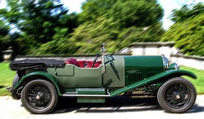 Photograph - 1926 Bentley Automobile by Bob Slitzan