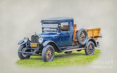 General Motors Digital Art - 1926 Chevrolet Pickup Truck by Randy Steele
