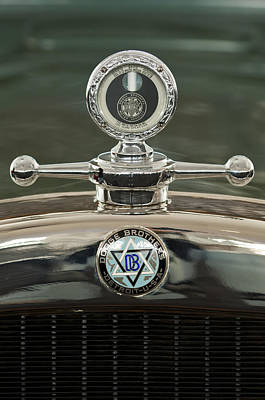 Hoodie Photograph - 1926 Dodge Woody Wagon Hood Ornament by Jill Reger