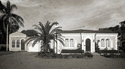Florida House Photograph - 1925 Florida Venetian Style Home - 15 by Frank J Benz