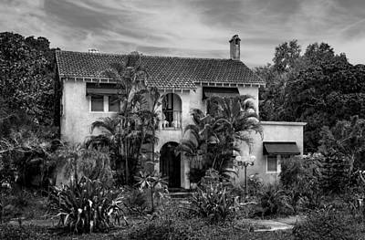 Florida House Photograph - 1926 Florida Venetian Style Home - 26 by Frank J Benz