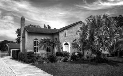 Florida House Photograph - 1926 Florida Venetian Style Home - 29 by Frank J Benz