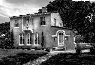 Photograph - 1926 Florida Venetian Style Home - 41 by Frank J Benz