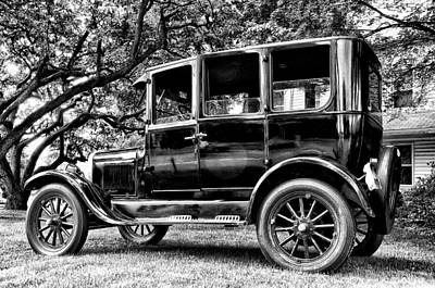 1926 Ford Model T Art Print by Bill Cannon