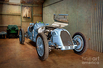 Photograph - 1926 Talbot Grand Prix by Stuart Row