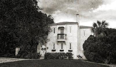 1926 Venetian Stye Florida Home - 36 Art Print by Frank J Benz