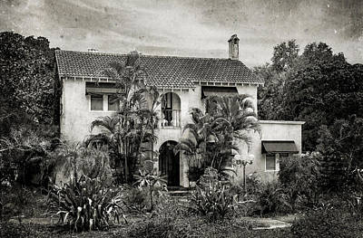 Florida House Photograph - 1926 Venetian Style Florida Home - 27 by Frank J Benz