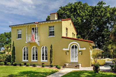 Photograph - 1926 Venetian Style Florida Home - 40  -  1926venetianvilla120857 by Frank J Benz