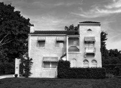 Photograph - 1926 Venetian Style Florida Home - 47 by Frank J Benz