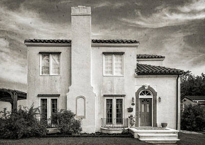 Florida House Photograph - 1926 Venetian Style Florida Home - 9 by Frank J Benz