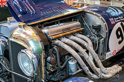 Photograph - 1926 Vintage Bentley 3l by Tim Gainey