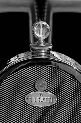 Photograph - 1927 Bugatti Replica Hood Ornament 3 by Jill Reger