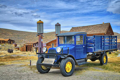 Photograph - 1927 Dodge Graham In Bodie by Lynn Bauer
