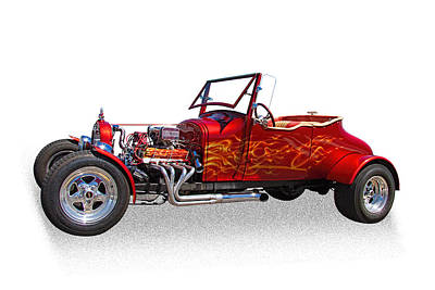 1927 Ford Roadster Photograph - 1927 Ford Hot Rod by Nick Gray