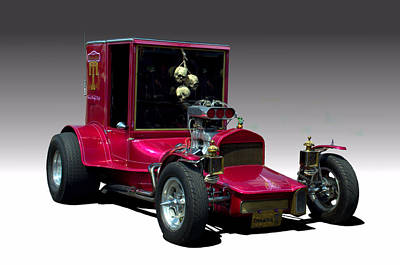 Photograph - 1927 Ford Model T Custom Hot Rod by Tim McCullough