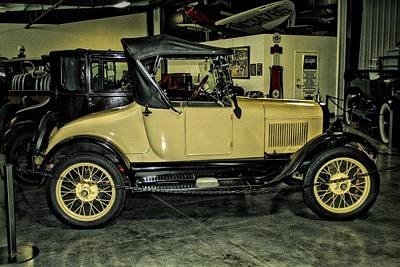 1927 Ford Roadster Photograph - 1927 Ford Model T Sport Roadster by CJ Anderson