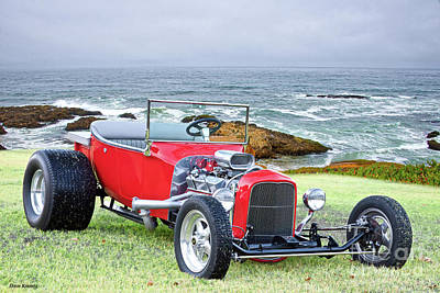 1927 Ford Roadster Photograph - 1927 Ford T Bucket Roadster 'on The Greens' by Dave Koontz