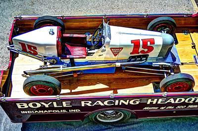 1927 Miller 91 Rear Drive Racing Car Art Print by Josh Williams