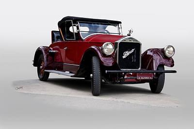 Automotive Art Series Wall Art - Photograph - 1927 Pierce Arrow Series 80 Runabout by Dave Koontz