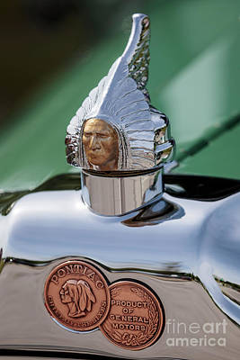 Photograph - 1927 Pontiac Hood Ornament by Dennis Hedberg