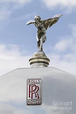 Photograph - 1927 Rolls Royce Hood Ornament by Dennis Hedberg