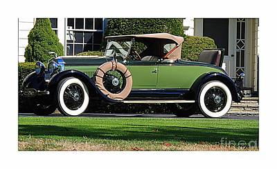 Photograph - 1928 -1931 Roadster by Marcia Lee Jones
