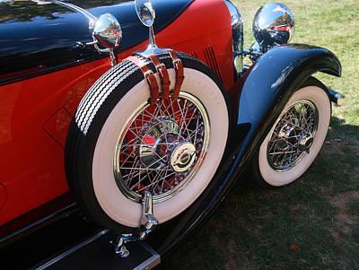 Photograph - 1928 Auburn    8  - 88 Speedster  by Allen Beatty