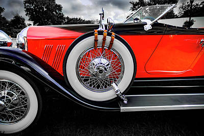 Photograph - 1928 Auburn 8-88 Speedster by Jack R Perry