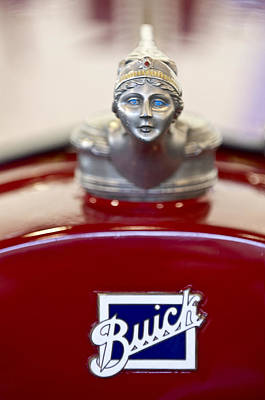 Photograph - 1928 Buick Custom Speedster Hood Ornament 2 by Jill Reger