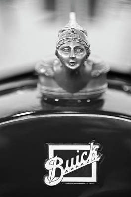 Photograph - 1928 Buick Custom Speedster Hood Ornament 4 by Jill Reger