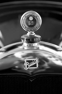 Photograph - 1928 Buick Hood Ornament 2 by Jill Reger