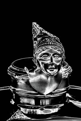 Vehicles Photograph - 1928 Buick Model 58 Hood Ornament by David Patterson