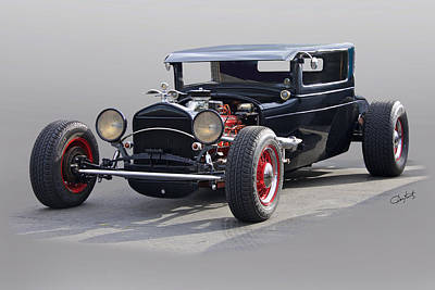 Travel Rights Managed Images - 1928 Chrysler Coupe Studio II Royalty-Free Image by Dave Koontz