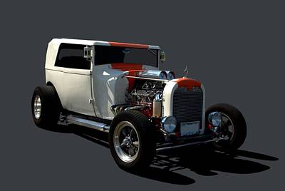 Photograph - 1928  Ford Custom Hot Rod by Tim McCullough