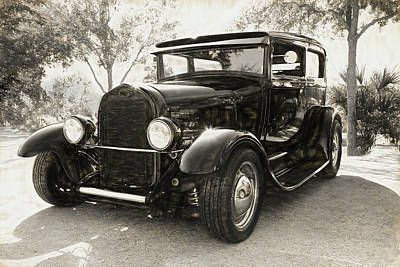 Photograph - 1928 Ford Model A by Donna Kennedy