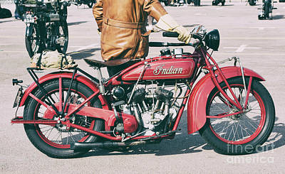 Photograph - 1928 Indian Scout by Tim Gainey