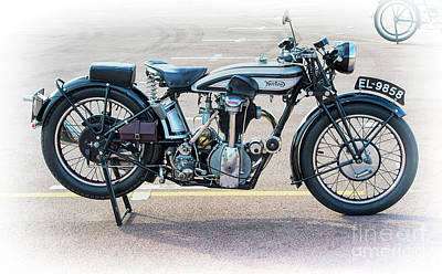 Photograph - 1928 Norton Cs1 by Tim Gainey