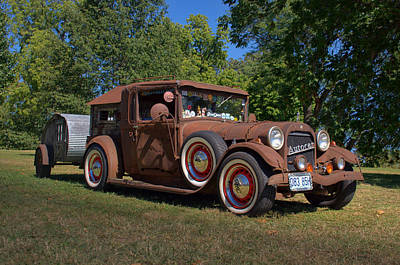 Photograph - 1928 Oldsmobile Camper Special by Tim McCullough