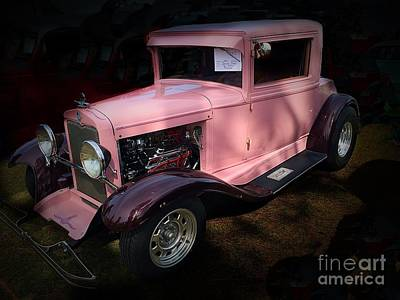Photograph - 1929 Chevy Business Coupe by Anne Sands