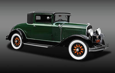 Photograph - 1929 Chrysler Model 65 Business Coupe  -  19293winchryslercoupefa170621 by Frank J Benz