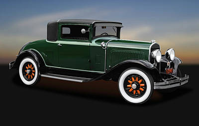 Photograph - 1929 Chrysler Model 65 Business Coupe  -  1929chrysler3windowcoupe170621 by Frank J Benz