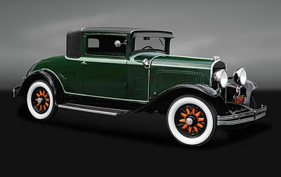 Photograph - 1929 Chrysler Model 65 Business Coupe   -   1929chryslercoupegry170621 by Frank J Benz
