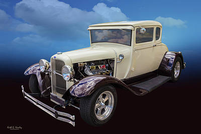 Photograph - 1929 Coupe by Keith Hawley