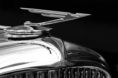 Photograph - 1929 Duesenberg Model J Hood Ornament 2 by Jill Reger