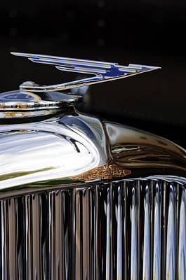 1929 Duesenberg Model J Hood Ornament Art Print by Jill Reger