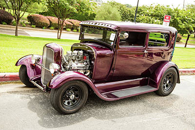 Photograph - 1929 Ford Model A 5511.06 by M K Miller