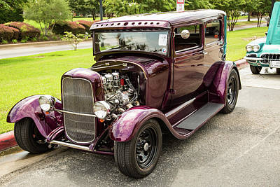 Photograph - 1929 Ford Model A 5511.07 by M K  Miller