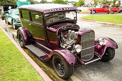 Photograph - 1929 Ford Model A 5511.09 by M K Miller