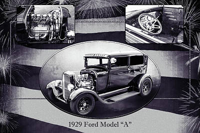 Photograph - 1929 Ford Model A 5511.50 by M K Miller